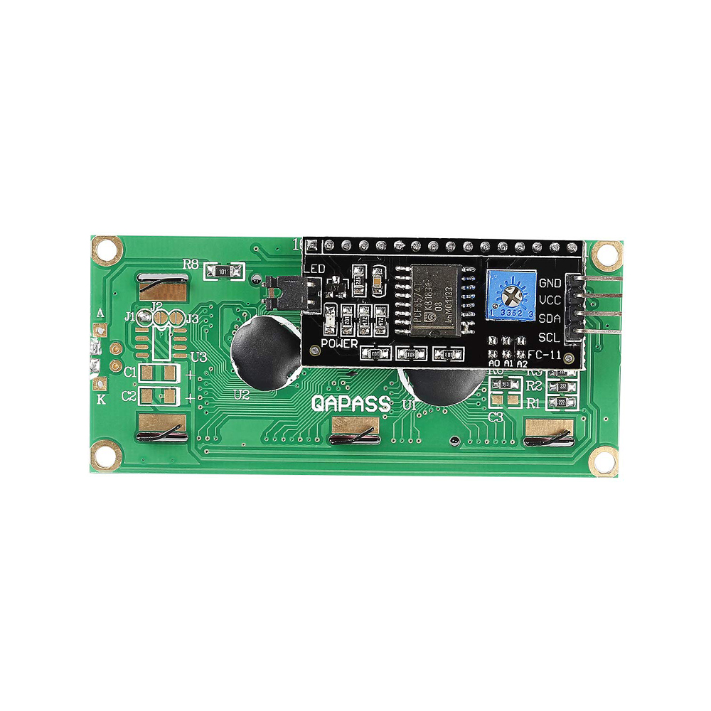 2Pcs Display Blue Cf IIC//I2C//TWI//SPI Serial INTERFACE1602 16X2 Lcd Module N kl