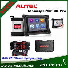 ECU Programming System with J2534 reprogramming box Update Onlie Multi-Language AUTEL MaxiSys Pro MS908P Automotive Diagnostic