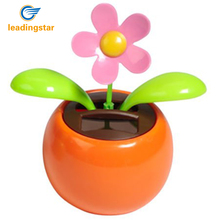 LeadingStar Solar Dancing Flower Assorted Colors Great as Gift or Decoration