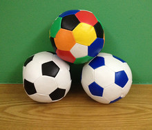 3 pcs/lot PP Fill Soft Football Beach Party Toys Children's day Gifts Child Birthday Party Favors