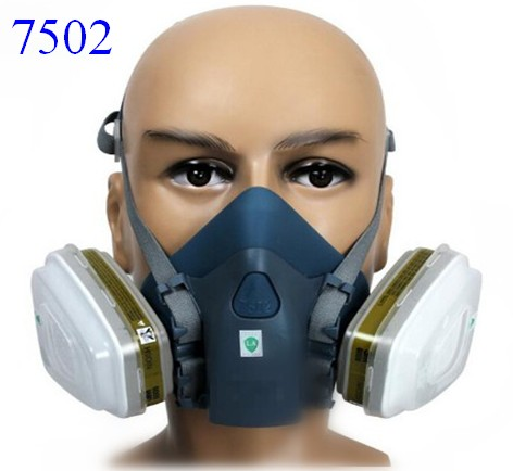 2015 new M7502 gas mask sprayed silicone spray pesticide industrial chemical activated carbon dust respirator<br><br>Aliexpress