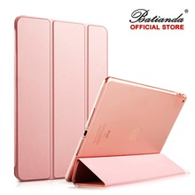 "Smart Case For New iPad 9.7 inch 2017 Model Folding Folio Cover Auto Sleep/Wake Up Tablet 9.7"" Rose Gold & New Navy"