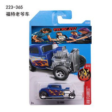 New Arrivals 2017 Hot Wheels 52 FORD Metal Diecast Cars Collection Kids Toys Vehicle For Children