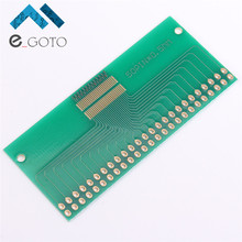 Double Row 50 Pin 0.5mm LCM TFT LCD Universal Adapter Board 50P PCB Plate Pinboard Electronic Components Training