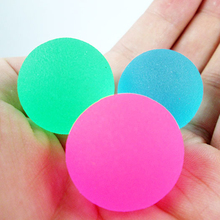 20pcs/set Colorful Toy Ball Mixed Bouncy Ball Child Elastic Rubber Children Kids Outdoor Bath Bouncy Toys Cool(China)