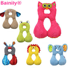 [Bainily]Nursing pillow 1-4 years old baby U-shaped travel pillow Wholesale baby car seat cushions animal plush toy(China)