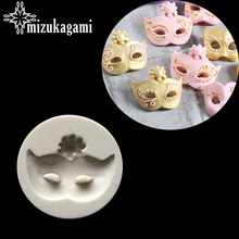 1pcs UV Resin Liquid Silicone Mold Mask Shape Resin Molds For DIY Pendant Charms Making Jewelry Finding Accessories(China)