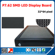 P7.62 RGB  full color led billboard indoor advertising scrolling message p7.62 led panel display 244*488mm 1/8 scan