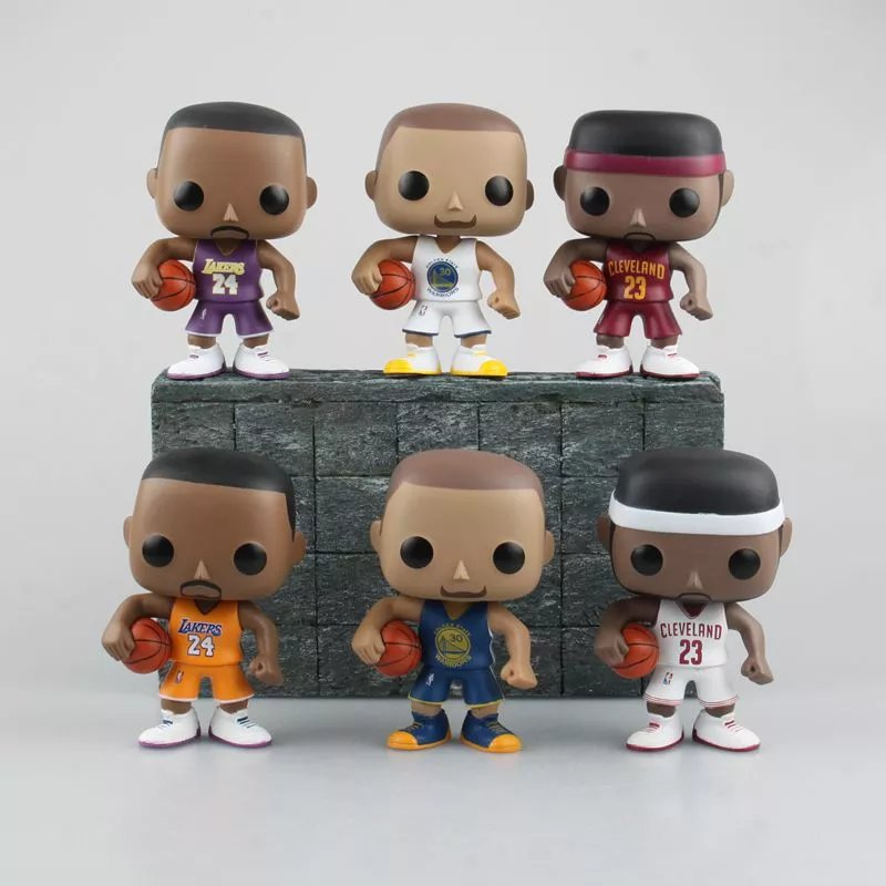 9CM Funko Pop Lebron James Kobe Bryant Stephen Curry PVC Action Figures Basketball NBA Star Vinyl Figures Toy Collection Doll<br><br>Aliexpress