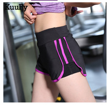 KuuFy Women Sports Leggings anti-light running shorts yoga fitness shorts(Hong Kong)