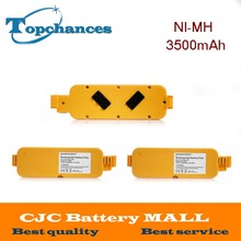 3PCS High Quality 14.4V 3500mAh Ni-MH Vacumm Cleaner Batteries For iRobot Roomba 400 405 410 415 416 418 4000