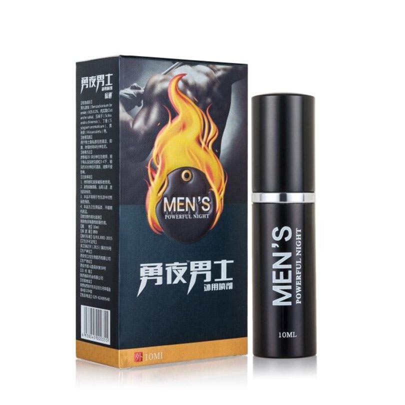 2 packs Men's powerful night Men Enlargement Spray Sexual Products Increase Growth Extension Delay For Men Extender(China)