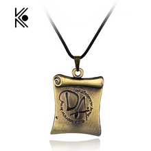 Brass Book Biennial Reel Fashion Pendant Alloy Necklace Gift For Fans Movie Jewelry Manufacturers Selling Drop Shipping(China)