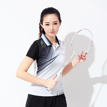 New badminton for summer sport for ladies rapid dry summer badminton in tennis shirts shirt short sleeve t-shirt  free shipping