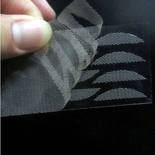 Size M 2PCS=24Pairs Lace Invisible Eyelash Glue Eyelid Super Clear Transpatant Double Fold Eeyelid Sticker