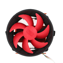 PCCOOLER CPU Cooler 3pin Mini CPU Cooler Heatsink Fan Cooling with 80mm Cooling Fan for Desktop Computer(China)