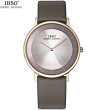 Fashion Ultra-thin Couple Watches Women Men Brand Genuine Leather Japan Quartz Watch Waterproof Analog Lover Wristwatches Geneva