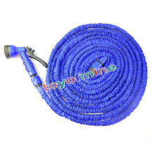 25ft 50FT 75FT 100FT Flexible Garden Water Hose Magic+Spray Gun Car Washing Pipe Retractable Rubber Watering Expandable Hose