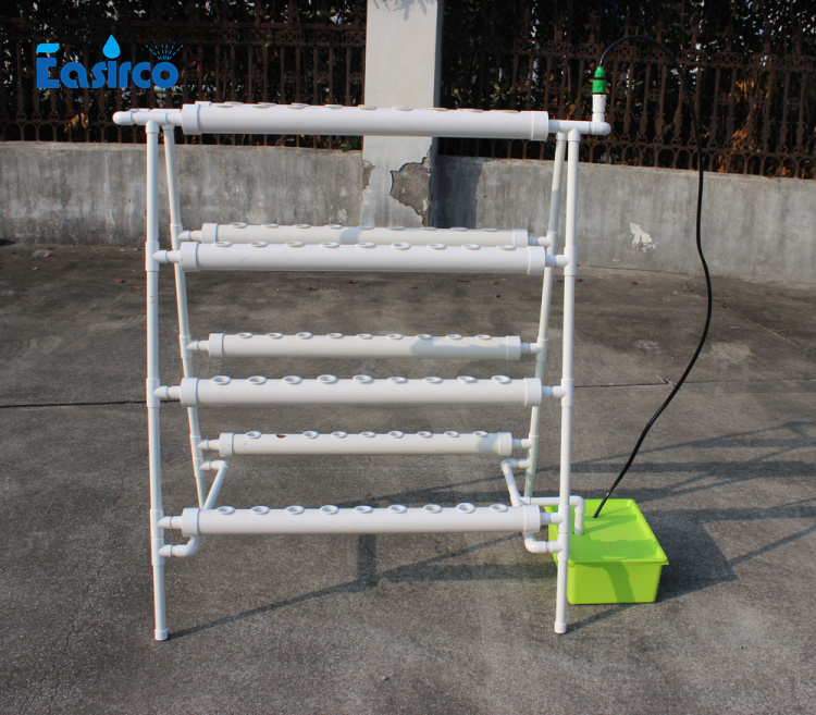 Hydroponics system NFT with 72pcs of net cup. Nutrient Film Technique (NFT) Free shipping