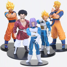 17cm -32cm Dragon Ball Z Figure Son Goku gohan Vegeta trunks Hercule Mark resolution of soldiers vol.5 action Figure model toy