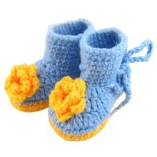 2017 New Fashion brand Children Baby shoes slippers Handmade Knit Sock Infant tmall Kids First Walkers For Girl Boy(China)