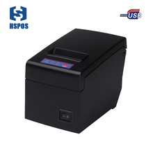 hotel bill receipt printer 130 mm / second ultra high speed print support multiple computer and mobiles printing machine HS-E58U(China)