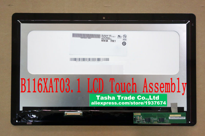 B166XAT03.1 Touch LCD Screen Assembly <br><br>Aliexpress