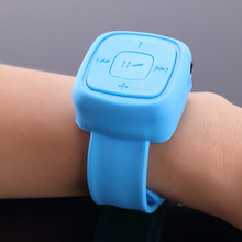 Portable Watch Mp3 Player Music Player With Micro TF Card Slot Wrist Music Player for Child Gift Sport Running(China)