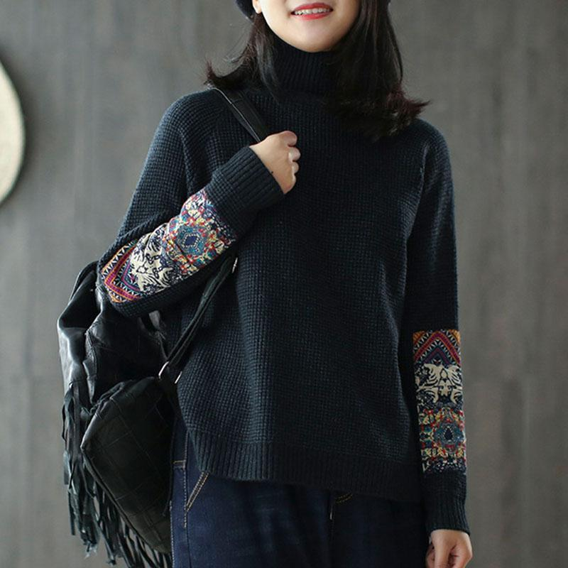 New_Half_Turtleneck_Long_Sleeve_Patchwork_Sweater_1_800x