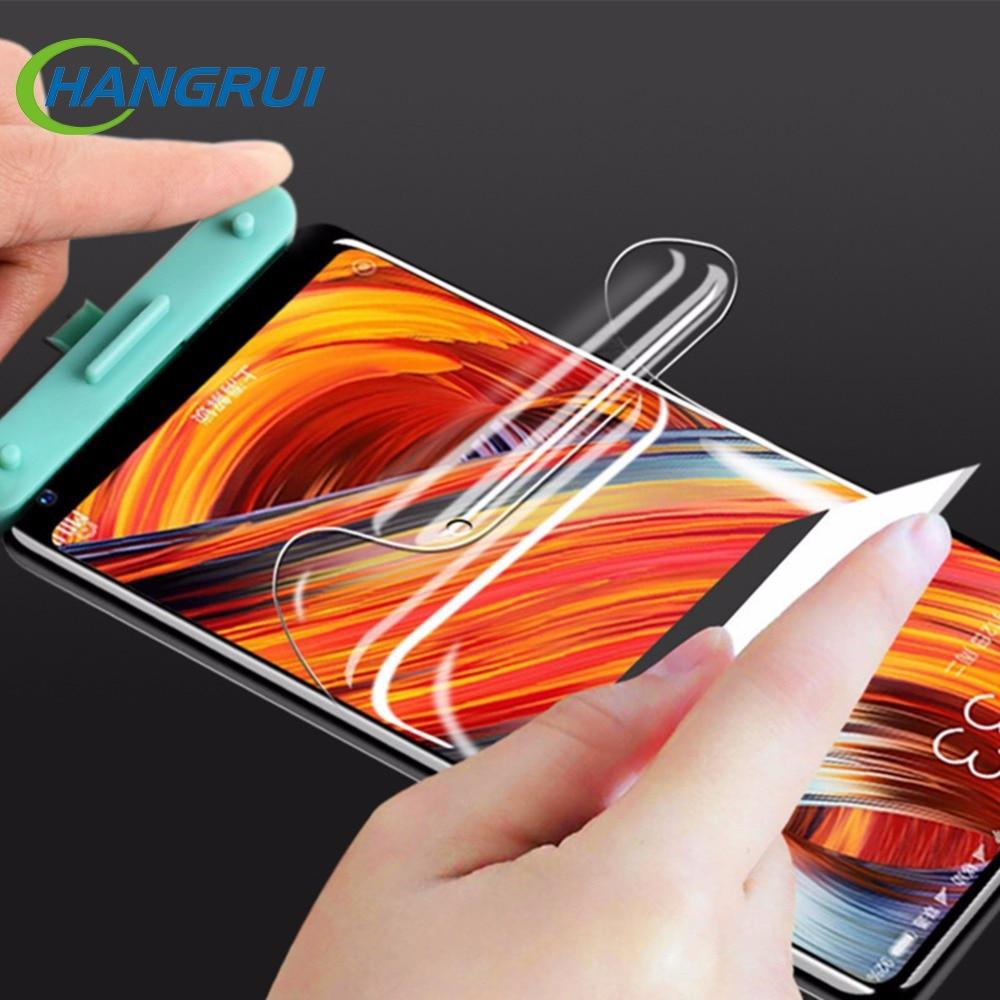 Hangrui For Xiaomi Redmi Note 4X 5 Plus Ultra Soft Hydrogel Film Curved Full Cover Screen Protector For Xiaomi Mi A1 5X MIX 2 6