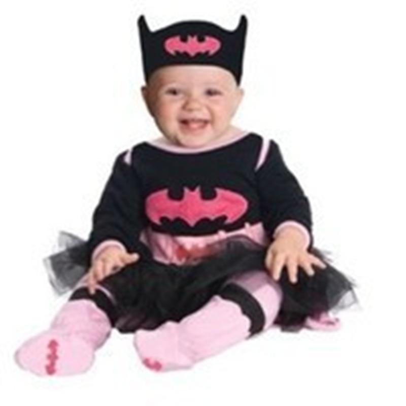 2017 New spring autumn baby rompers girls boys set superman supergirl batman modelling jumpsuit + hatband babi Costumes clothing<br><br>Aliexpress