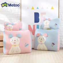 Metoo Office Doll Sofa Cushions Waist & bone Pillow Plush Stuffed Cartoon Kids Toys Car seat Pillow Birthday Christmas gift S31(China)