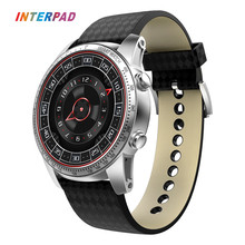 "2017 Interpad KW99 Smart Watch Android 5.1 MTK6580 1.39"" AMOLED 3G WIFI GPS Smartwatch For Apple iPhone PK Kingwear KW88 DM368(China)"