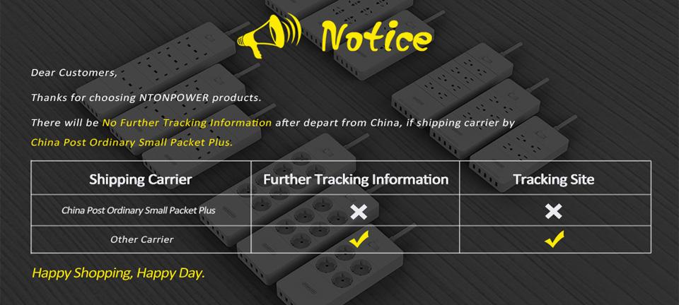 Ntonpower shipping