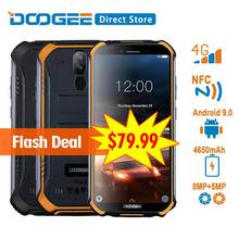 DOOGEE S40 4G Rede Móvel Robusto Telefone 5.5 polegada Display 4650 mAh MT6739 Quad Core 2 GB RAM 16 GB ROM Android 9.0 8.0MP IP68/IP69K(China)