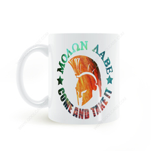 Spartan Helmet Come and Take It Mug Coffee Milk Ceramic Cup Creative DIY Gifts Home Decor Mugs 11oz T588