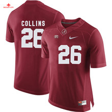 Nike 2017 Alabama Marcell Dareus 57 Can Customized Any Name Any Logo Limited Ice Hockey Jersey Landon Collins 26(China)