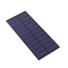 Cwaal 4W 5.5V Polysilicon Solar Panel Cell Sunlight Power Charger Road Lamps Outdoors Solar Cells Battery Bank Charging(China)