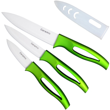 K brand ceramic knife kitchen accessoires  5'' slicing 4'' utility 3'' paring fruit kitchen knives very hot sales cooking tools