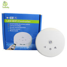 Tanbaby LED wifi controller UFO MINI WIFI led control,DC12-24V,RGBW Timing function,group controller,music mode,16million colors