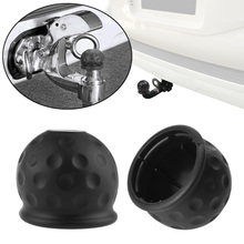 1 Pcs Universal 50mm Tow Bar Ball Cover Cap Towing Hitch Caravan Trailer Towball Protect(China)