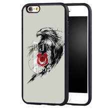 Besiktas BJK Black eagle case cover for Samsung Galaxy s6 S7 edge S8 plus s4 s5 note 2 3 4 5