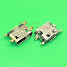 100pcs Micro USB reverse heavy plate 1.2 Charging Port Connector for Lenovo A708t S890 / for Alcatel 7040N for HuaWei G7 G7-TL00(Hong Kong)