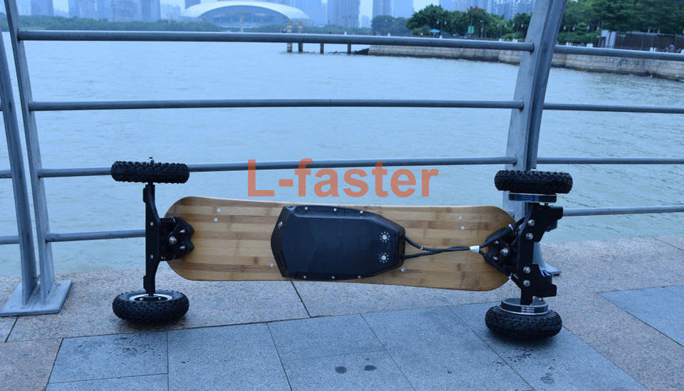 electric off road skateboard belt drive -5-a
