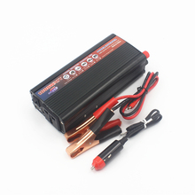 Car inverter 1000W DC 12v to AC 220 v vehicle power supply switch on-board charger car inverter Free shipping