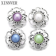 10Pcs/lot Unisex Charm Pulseras 18mm Metal Snap Button Jewelry For Bracelet Watches Women One Direction ZA484(China)
