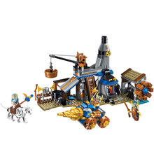 368pcs The War Glory Blacksmith Shop ABS Building Blocks Toys Legoings Toys For Children Birthday Gifts(China)
