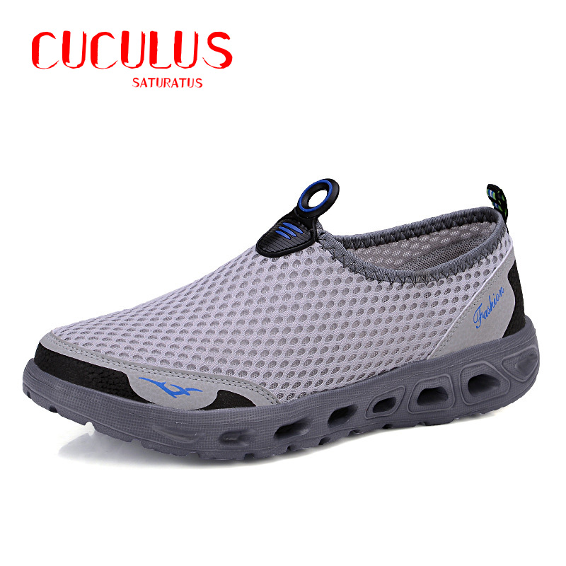 2017 Casual Shoes Men Mesh Summer Style Solid Man Flats Loafers Breathable Slip-on Water Shoes Size Plus 39-45 004<br><br>Aliexpress