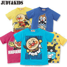 Buy T Shirt Boys Girls Tops T-Shirt Short Sleeve Anpanman Child Clothes Kids Tees Children Clothing Spring Summer New Year 2017 for $6.66 in AliExpress store