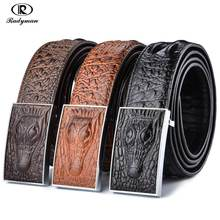 RADYMAN Belt male genuine leather his belt Trouser belt crocodiles design high quality men's belts ceinture homme cinturones